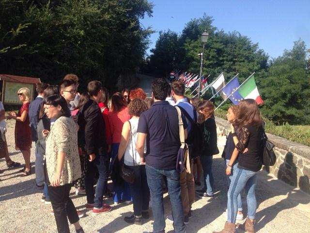 I 27 alunni che hanno partecipato alla manifestazione